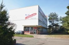 Skladovací a výrobní prostory v Hradci Králové