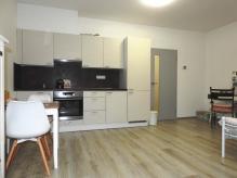 Pronájem nového bytu 1+kk s balkonem a vnitřním parkovacím stáním - Hradec Králové – MP