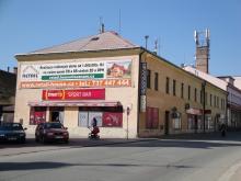 Komerční nemovitost s bytovou jednotkou, 1620 m2, Klicperova, Chlumec nad Cidlinou