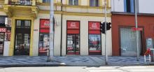 Prodejna nebo kanceláře na tř. ČSA - rušné místo,  82 m2