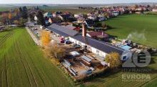 Výrobní haly / skladu 840 m2 v obci Praskačka
