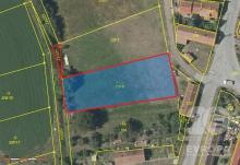 Prodej pozemku k výstavbě rodinného domu v obci Obědovice