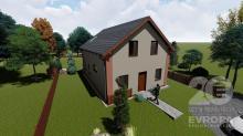 Prodej rodinného domu na klíč na pozemku 540 m2 v obci Horní Brusnice