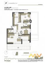 Pronájem novostavby 4+kk, 110 m2 + terasa 38 m2 + garáž, Hradec Králové - ul. Farářství.