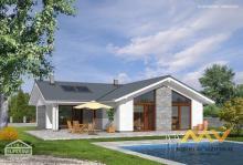 Prodej nedokončeného rodinného domu 4+kk, 106 m2, obec Osice.